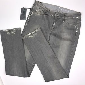 7 For All Mankind Tall Straight Leg Pola Jeans.